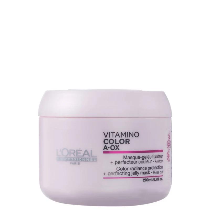 72df8e909 L'Oréal Professionnel Vitamino Color A.OX - Máscara de Tratamento - 200ml -  Beleza Hoje